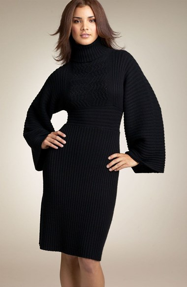 Pics For u0026gt; Turtleneck Sweater Dresses