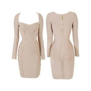 Long Sleeve Bandage Dress Images