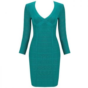 Long Sleeve Bandage Dress Pictures