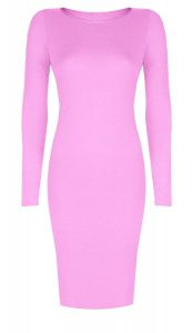 Long Sleeve Midi Dress Bodycon