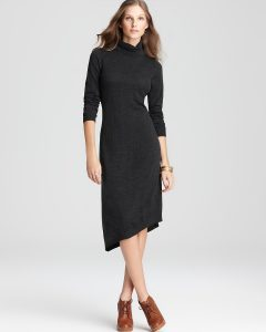 Turtleneck Sweater Dresses
