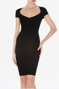 Bandage Black Dress