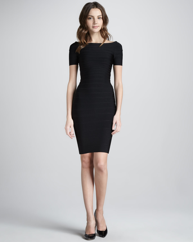 Black Bandage Dress Picture Collection Dressedupgirl Com