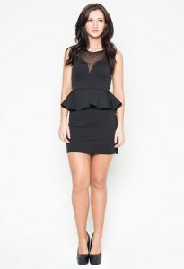 Black Dress Peplum