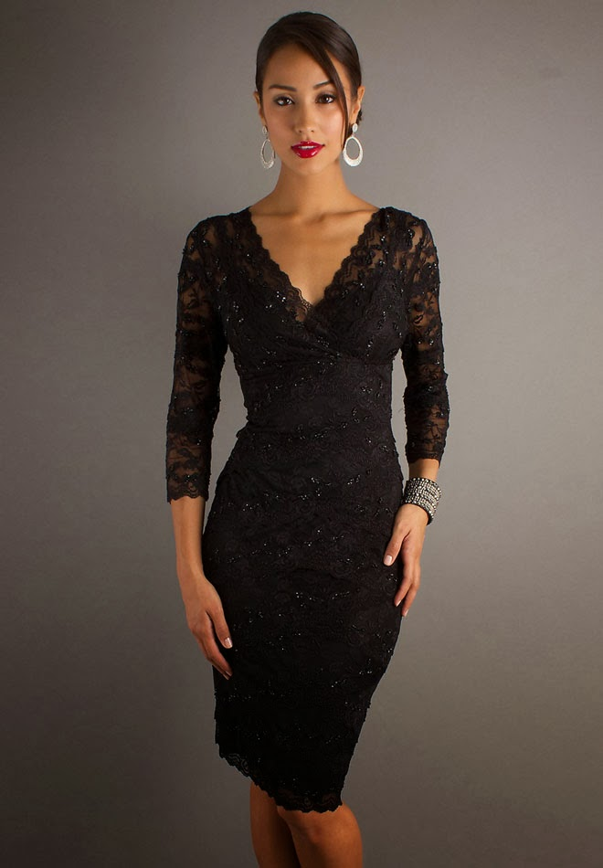 Black Lace Dress Picture Collection Dressedupgirlcom