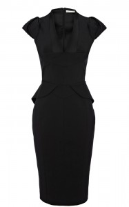 Black Peplum Dresses