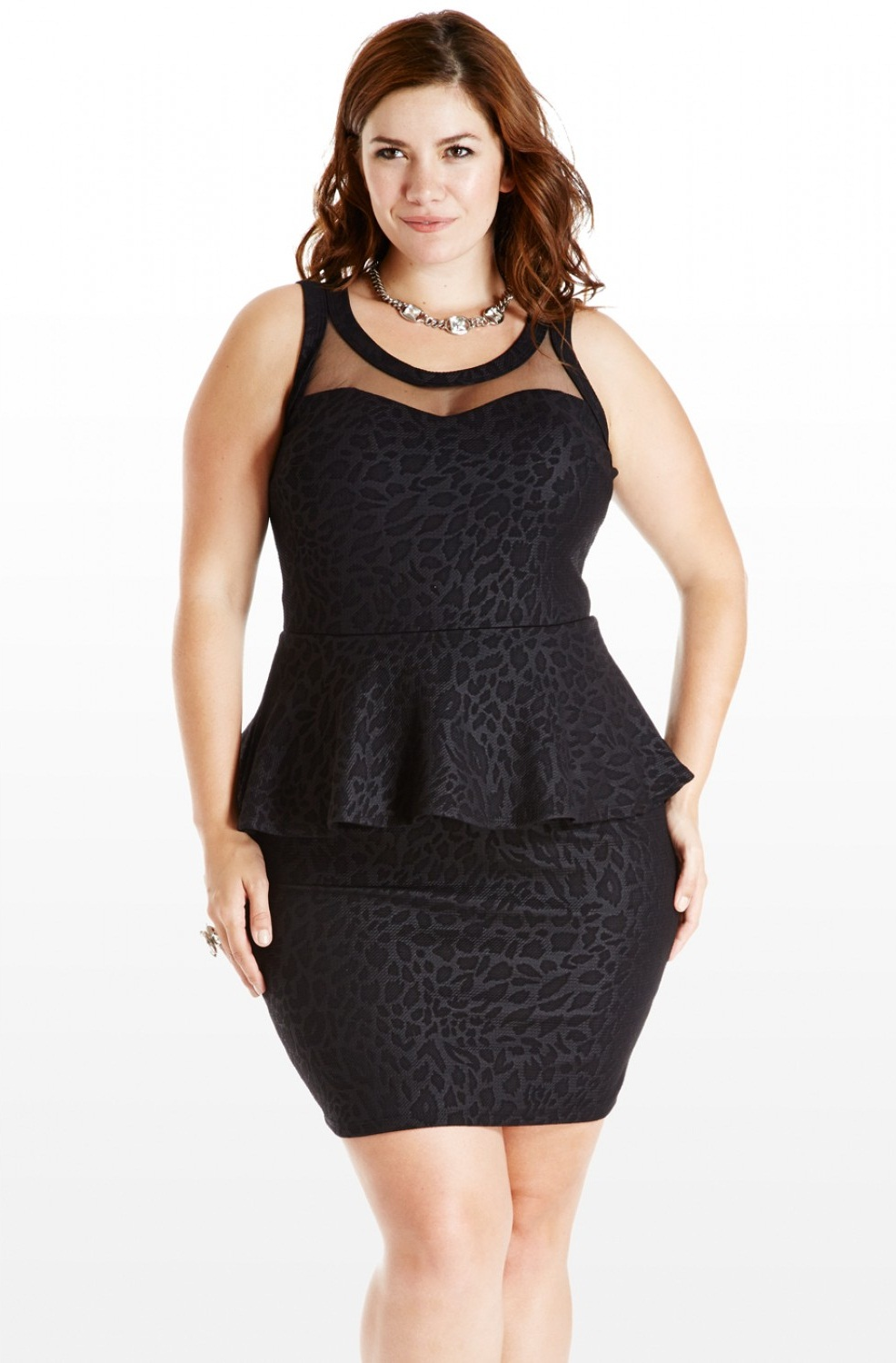 Plus Size Formal Dresses Under 100: Plus Size Peplum Dress Picture Collection
