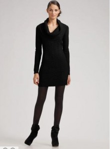 Black Sweater Dresses