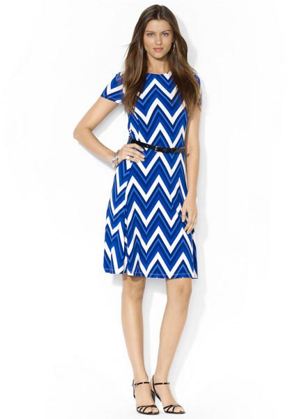Chevron Print Dress | Dressed Up Girl