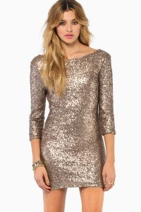 Bodycon Sequin Dress