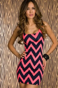 Chevron Print Dresses for Women