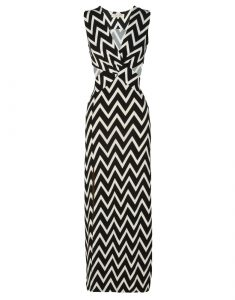 Chevron Print Maxi Dresses