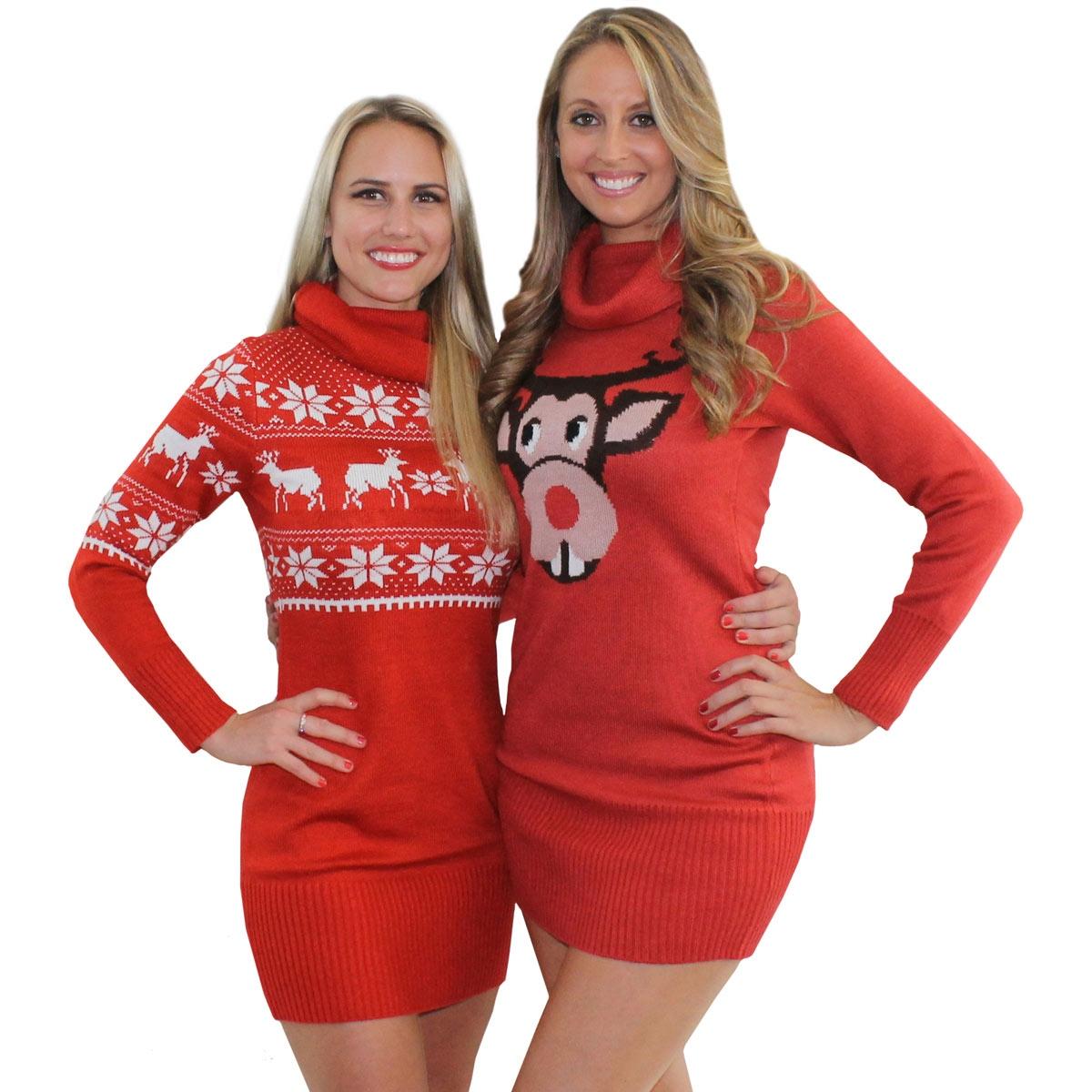 Women Christmas Sweater Dress.Christmas Sweater Dress Picture Collection Dressedupgirl Com