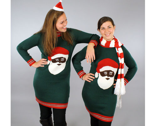 Christmas sweater dress picture collection dressed up girl