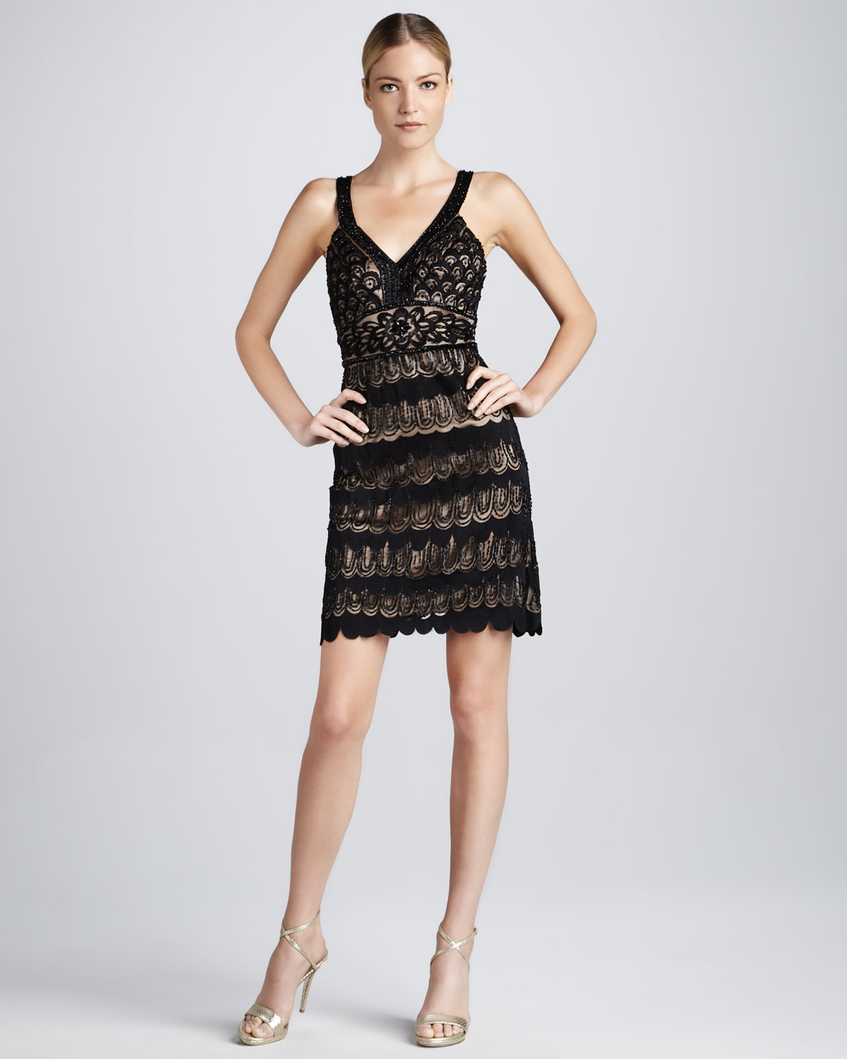 Lace Cocktail Dress - Dressed Up Girl