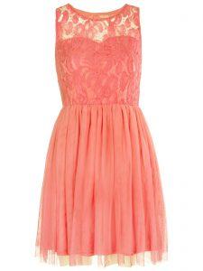 Floral Lace Skater Dresses