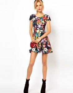 Floral Skater Dresses