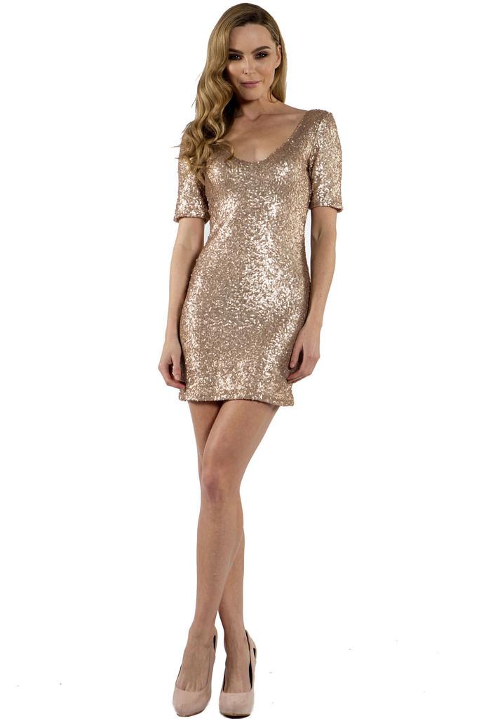 Sequin Bodycon Dress Picture Collection Dressedupgirl Com