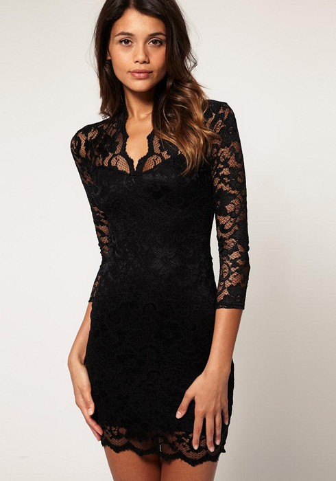 Think, Sexy black lace party dresses excellent message