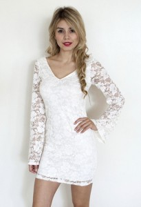 Lace Dress Long Sleeve