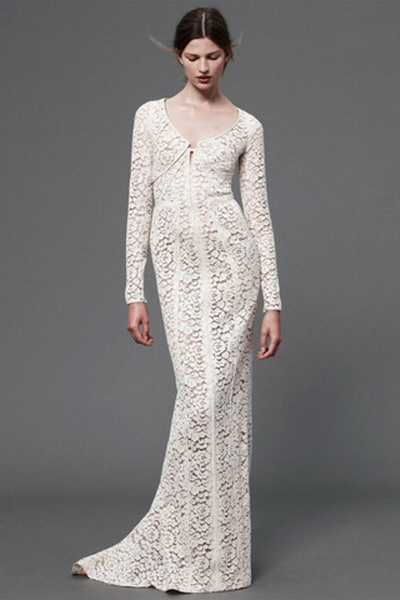 Long Lace Dress - Dressed Up Girl