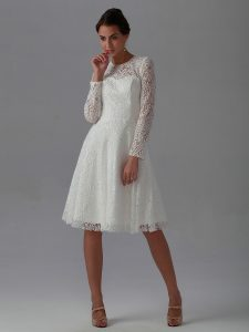 Long Lace Dress With Sleeves
