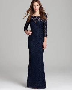 Long Sleeve Lace Dresses