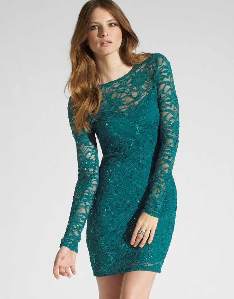long sleeve lace dress dressed up girl