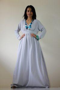 Long Sleeve Maternity Maxi Dresses