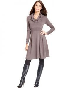 Long Sleeve Sweater Dresses For Women