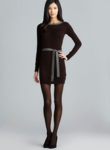 Long Sleeved Sweater Dresses