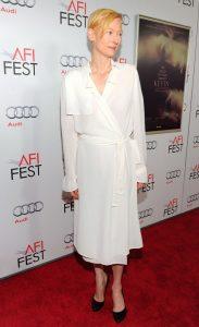 Long White Wrap Dress