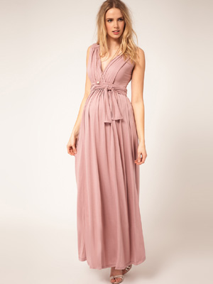 MATERNITY LONG DRESSES - Mansene Ferele