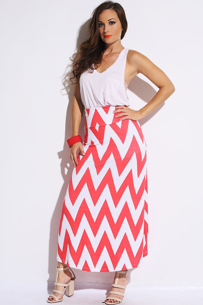 Chevron Maxi Dress Picture Collection | DressedUpGirl.com