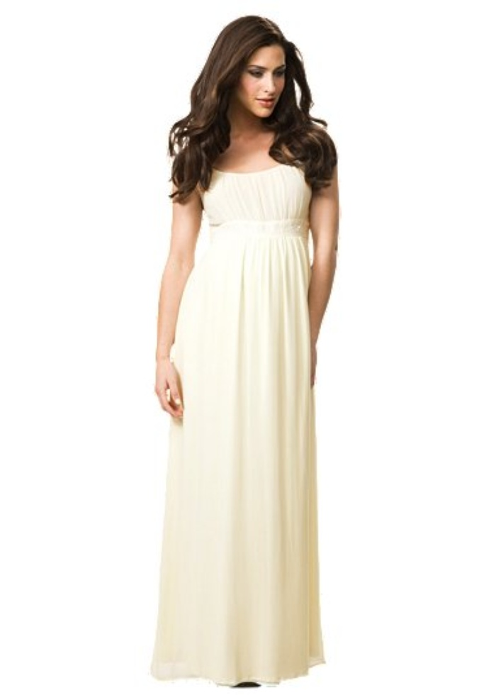 Maxi maternity dresses mansene ferele for Maternity maxi dress for wedding
