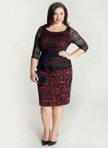 Peplum Dresses for Plus Size