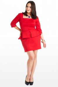 Plus Size Peplum Dresses