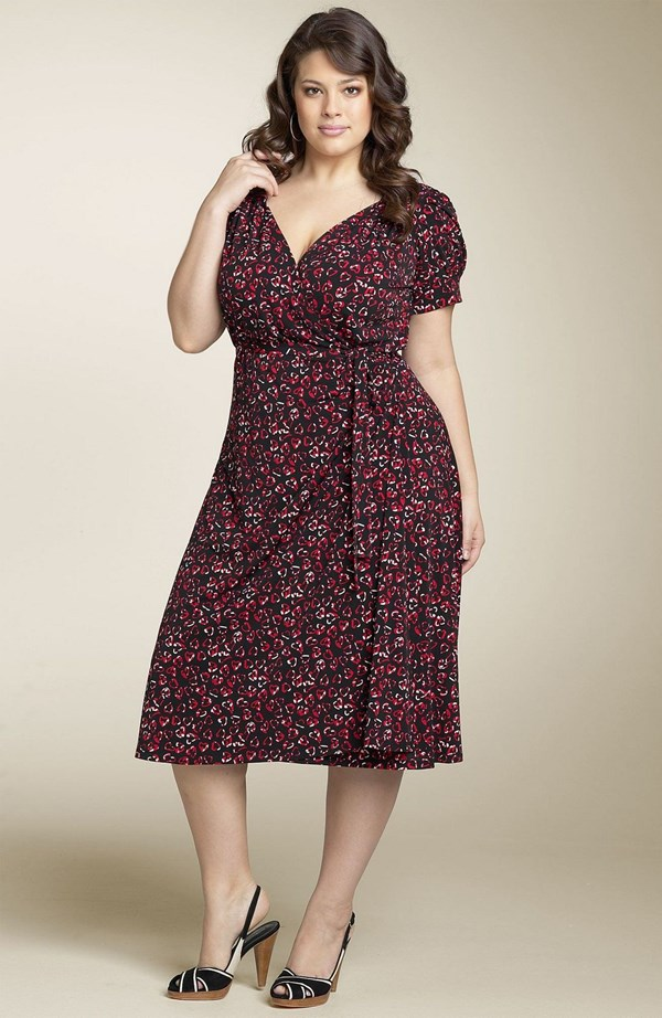 Plus Size Wrap Dress Picture Collection Dressed Up Girl