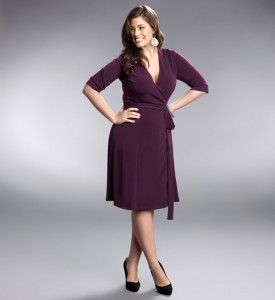 Plus Size Wrap Dresses