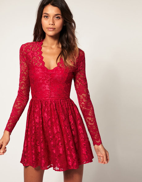 Red Skater Dress Picture Collection Dressed Up Girl