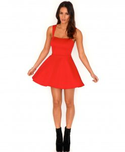 Red Skater Dresses