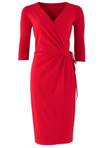 Red Wrap Dresses