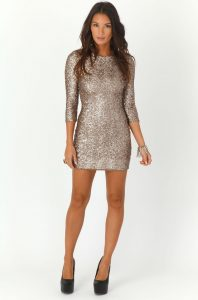 Sequin Bodycon Dresses