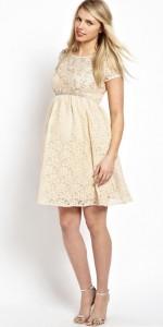 Short Maternity Lace Dress