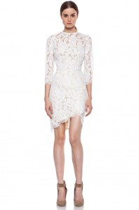 Short White Lace Dresses