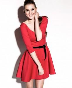 Skater Red Dresses