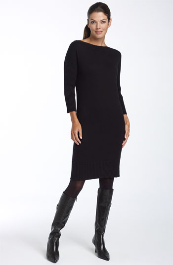 Black Sweater Dress Picture Collection Dressedupgirl Com