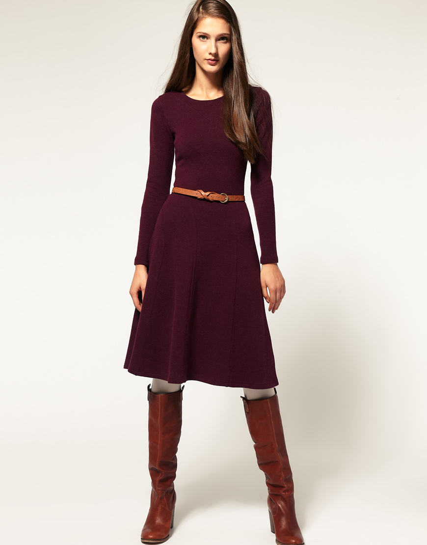 Long Sleeve Sweater Dress Picture Collection
