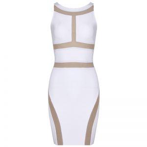 White Bandage Dresses