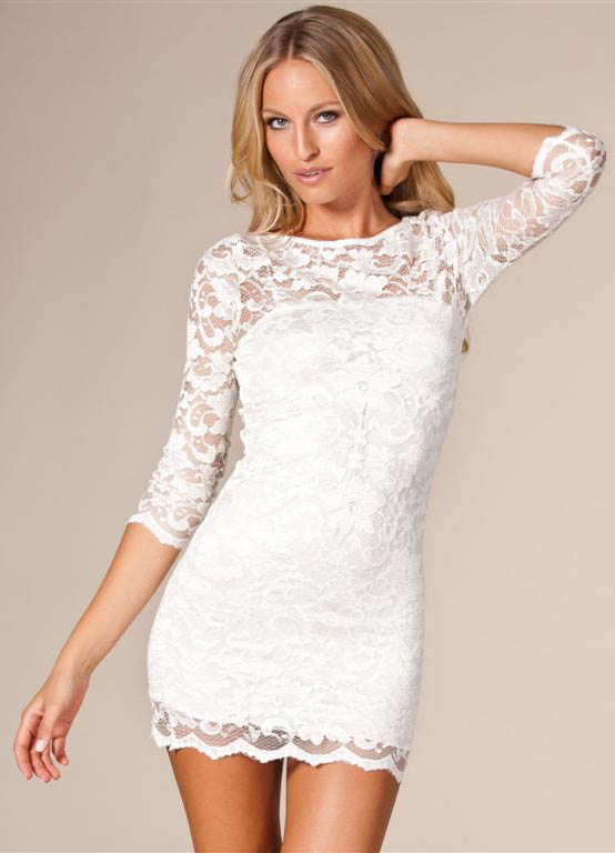 Lace Bodycon Dress | Dressed Up Girl